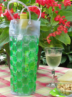 Green Chill it Wine Bag