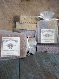 Evergreen Lavender Handmade Soap Bar