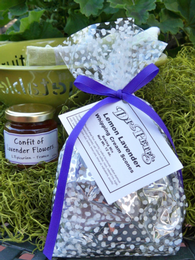 Lemon Lavender Scone mix with Lavender Jelly Gift Set