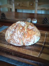 Rosemary Garlic Boule
